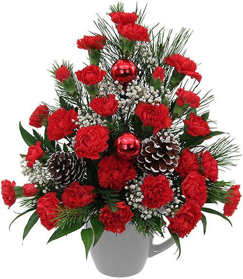 Flowers Christmas Festivities Fresh Flower Delivery To England Bradford